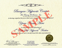 7th Path Self hypnosis Certification