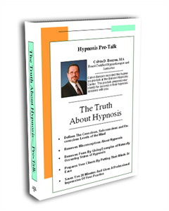 Pre-Talk The Truth About Hypnosis DVD