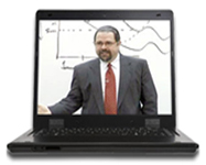 Cal Banyan on Laptop for Live Online Hypnosis Training