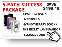 $199.18 OFF on 5-PATH 2.0, Hypnosis & Hypnotherapy Book and The Secret Language of Feelings
