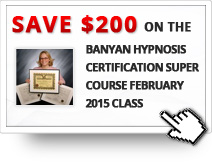 $200 OFF on Banyan Hypnosis Certification Super Course