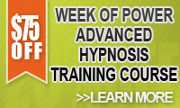 Weekly Special Week of Power - Advanced Hypnosis Training