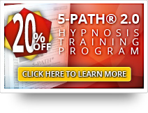 20% OFF 5-PATH® Hypnosis Training Course DVD
