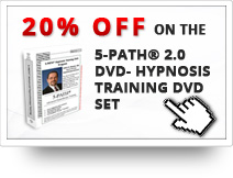 20% OFF on the 5-PATH® 2.0 DVD- Hypnosis Training DVD Set