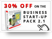 30% OFF on the Business Start-Up Pack 2.1 DVD