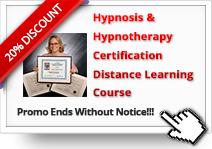 Additional 20% OFF on Hypnosis Certification Distance Learning Course