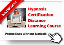 Additional 30% OFF on Hypnosis Certification Distance Learning Course