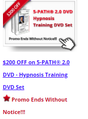 $200 OFF Sale with 5-PATH® Hypnosis Training Program DVD Set