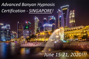 Advanced Hypnosis Certification Course in Singapore on June 2020 MED