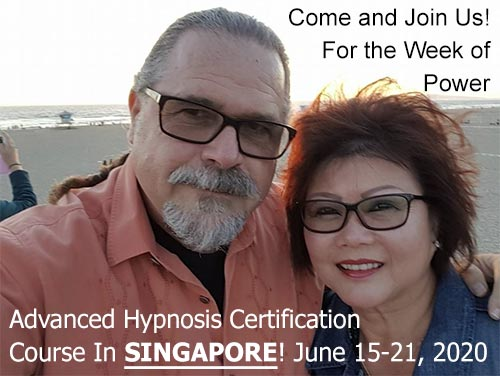 Advanced Banyan Hypnosis Certification with Cal & Maureen Banyan in Singapore on June 2020