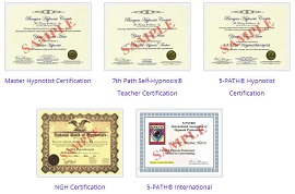 Hypnosis Training Certifications from Cal Banyan