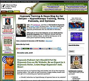 Old Hypnosis Training Blog