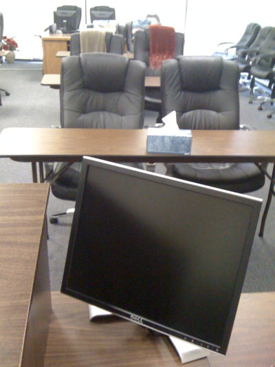 Monitor for Hypnosis Training Instructor