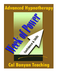 week of power advanced hypnosis and hypnotherapy training