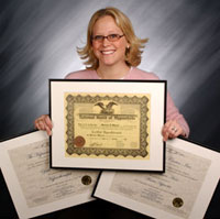 Certificates from the NGH Approved Banyan Hypnosis Certification Super Course