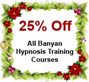 holiday special on hypnosis training courses