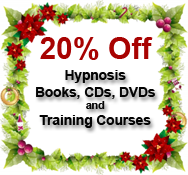 holiday special on hypnosis training products and certification courses