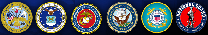 Military Veterans Badges and Logos