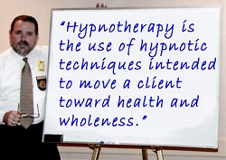 Cal Banyan explaining the Hypnotherapy Meaning