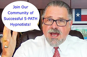 Cal invites you to join the Successful 5-PATH® Hypnotists Community