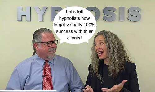 Cal Banyan & Erika Flint in Podcast #554 - How to Approach 100% Success with Your Hypnosis Clients