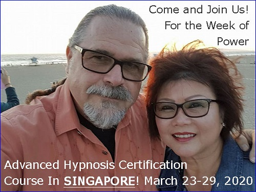Advanced Banyan Hypnosis Certification with Cal & Maureen Banyan in Singapore on March 2020
