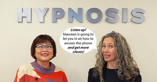 Maureen Banyan & Erika Flint in Podcast #556 - Special Guest Maureen Banyan On How To Fill Your Appointment Book By Answering the Phone