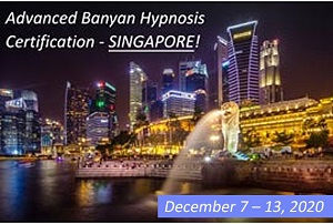 Advanced Hypnosis Certification Course in Singapore on December 2020 MED