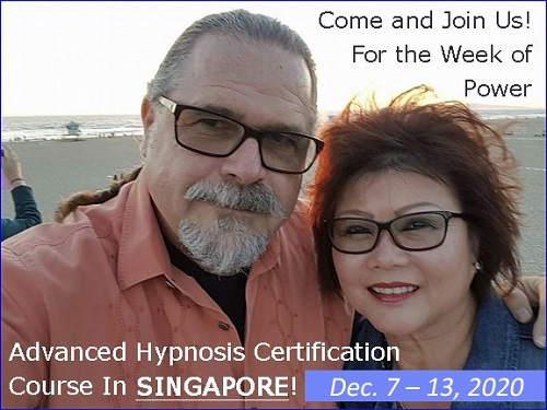 Advanced Banyan Hypnosis Certification with Cal & Maureen Banyan in Singapore on December e2020