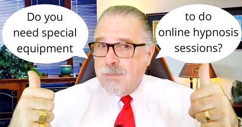 Cal Banyan in Podcast #564 - Do You Need Special Equipment for Online Hypnosis Sessions?