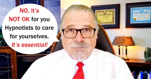Cal Banyan in Podcast #566 - NO!  It's NOT OK for You to Take Care of Yourself – It's Essential!