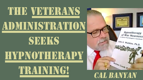 Cal Banyan in Podcast #575 - American Veterans Administration Asked Cal to Train for Them